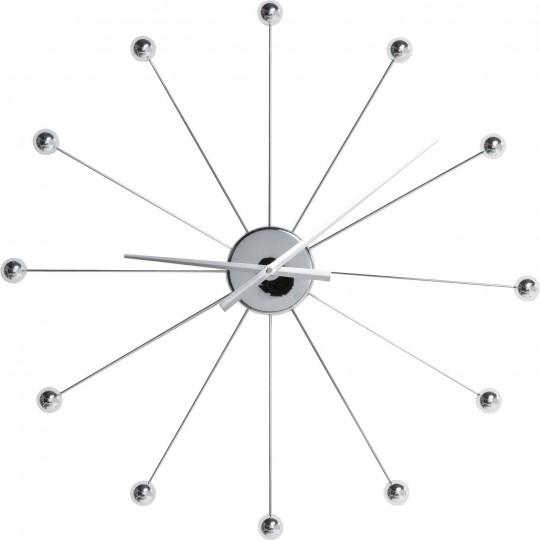 Relógio de Parede Like Umbrella Balls Cromado-30200 (2)