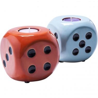 Porta velas Cube Sortido