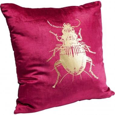 Almofada Bug roxo 45x45cm