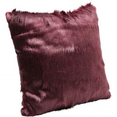Almofada Ontario Fur Vermelha 60x60cm