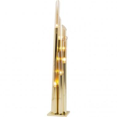 Candeeiro de Chão Pipe Gold 175cm