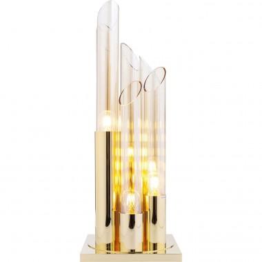 Candeeiro de Mesa Pipe Gold 80cm