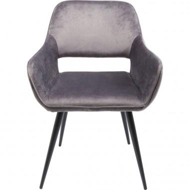 Cadeira de braços San Francisco Cinzenta