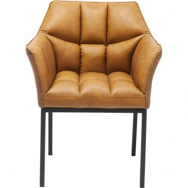 Cadeira de braços Thinktank Castanho