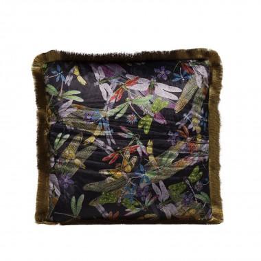 Almofada Tropical Garden Fringe 45x45cm