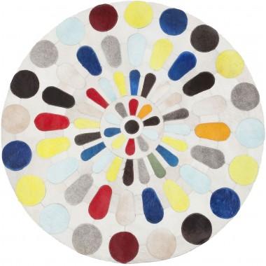 Tapis Campo multicolore 150cm Kare Design