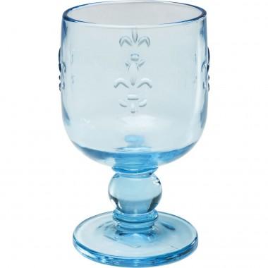 Verre à vin Goblet turquoise Set de 6 Kare Design