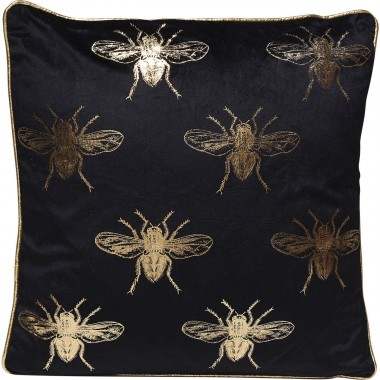 Almofada Bee Preta 45x45cm