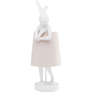 Lampe Animal Lapin blanc Kare Design