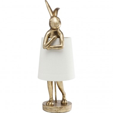 Candeeiro de Mesa Animal Rabbit Gold 68cm-61598 (9)