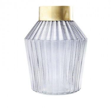 Vase Barfly gris 30cm Kare Design