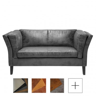 Sofa Couchee 2 Lug. Leather 2