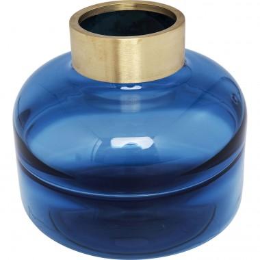 Vaso Positano Belly Azul 21cm