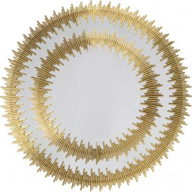 Espelho Solare Dourado Ø132cm