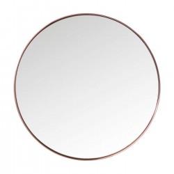 Espelho Curve Round Cobre Ø100cm