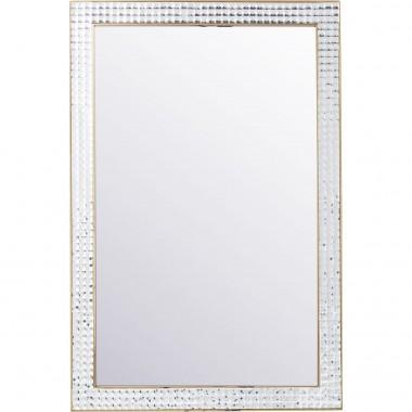 Espelho Crystals metal Dourado 120x80cm