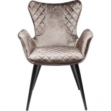 Cadeira de braços Dream Castanha