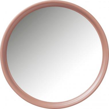 Espelho Salto Rosa Ø80cm