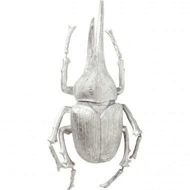 Decoração de Parede Herkules Beetle Prateado