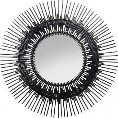 Espelho Icario Preto Ø90cm
