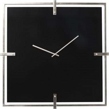 Relógio de Parede Preto Mamba Chrome