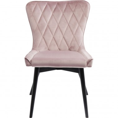 Cadeira Marshall em veludo Malva