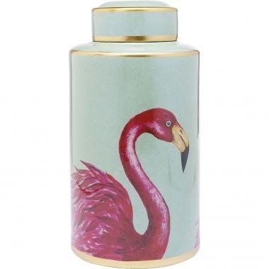 Pote Decorativo Flamingos 39cm-61764 (3)