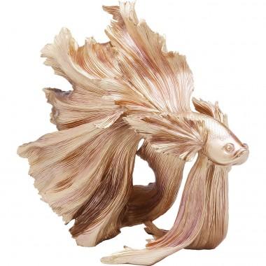 Peça Decorativa Betta Fish Gold
