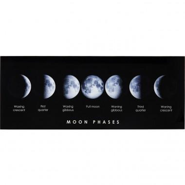 Quadro de Vidro Mond Phase 70x180cm