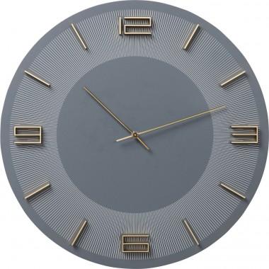 Relógio de Parede Leonardo Cinzento/Dourado