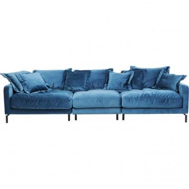 Sofá Lullaby 3 lug. Azul