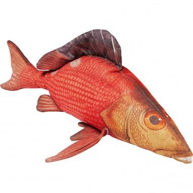Almofada Shape Fish vermelho 44x95cm
