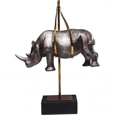 Peça Decorativa Hanging Rhino
