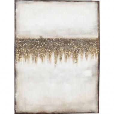 Tela Acrílica Abstract Fields 120x90cm