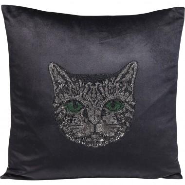 Coussin tête de chat 45x45cm Kare Design