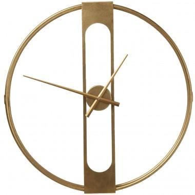 Relógio de Parede Clip Gold Ø60cm