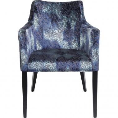 Cadeira de braços Mode Fancy Azul