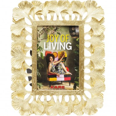 Cadre feuilles de ginkgo 10x16cm Kare Design