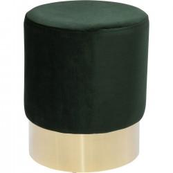 Banco Cherry Verde/Dourado Ø35cm-84111 (5)