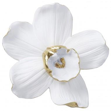 Decoração de Parede Orchid Branco 25cm