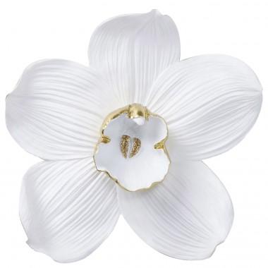 Decoração de Parede Orchid Branco 54cm