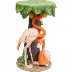 Mesa de Apoio Animal Flamingo Road Ø36cm