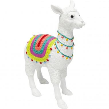 Déco Alpaga blanc 39cm Kare Design