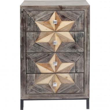 Commode Starry 4 tiroirs Kare Design