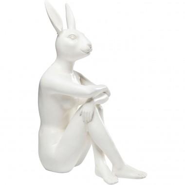 Peça Decorativa Gangster Rabbit Branco