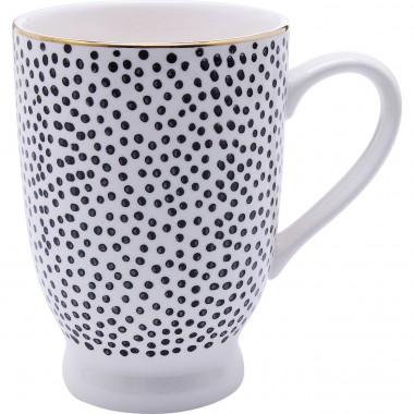 Mugs Dotty Rim set de 4 Kare Design