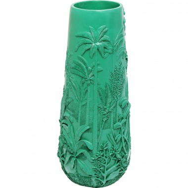 Vase Jungle vert 83cm Kare Design