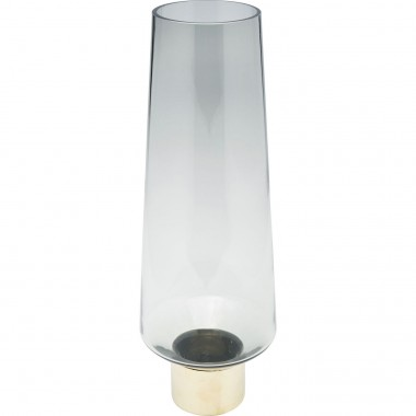 Vaso Noble Ring Cinzento 40cm