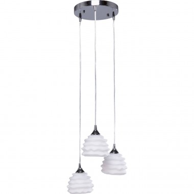 Suspension Ruffle blanche 37cm Kare Design