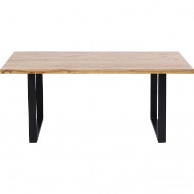 Table Jackie chêne noire 180x90cm Kare Design